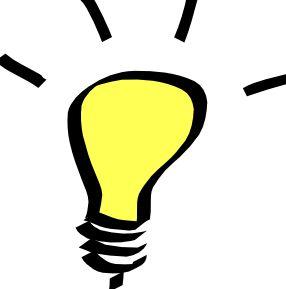ilustrační obrázek - žárovka